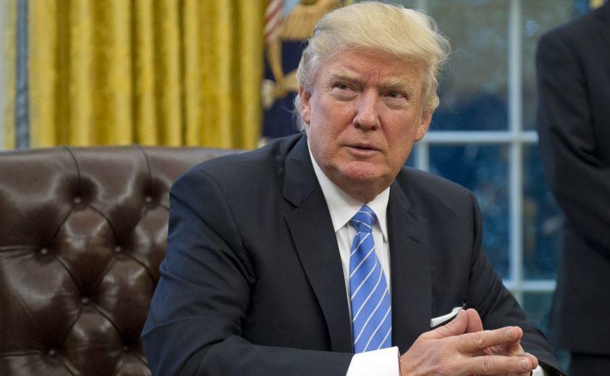 Preşedintele american Donald Trump în Biroul Oval al Casei Albe, în Washington, D.C.