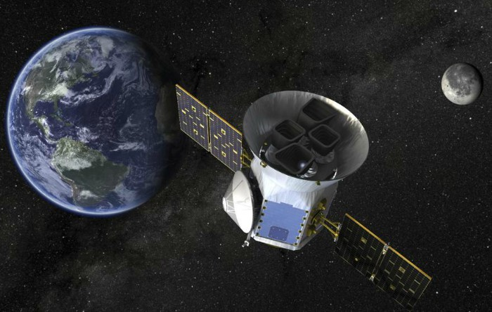 Telescopul Transiting Exoplanet Survey Satellite (TESS)