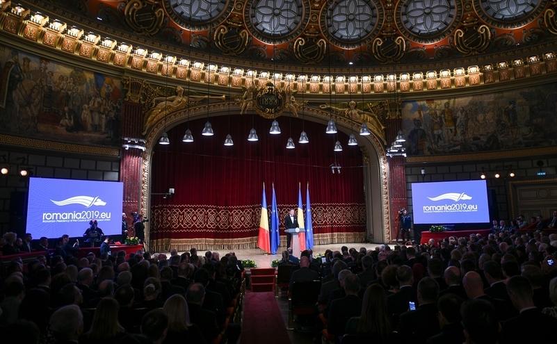 România preia oficial preşedinţia rotativă a UE