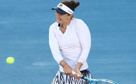 Jucătoarea română de tenis Irina Camelia Begu.
