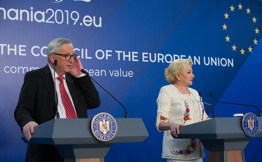 Jean-Claude Juncker şiViorica Dăncilă