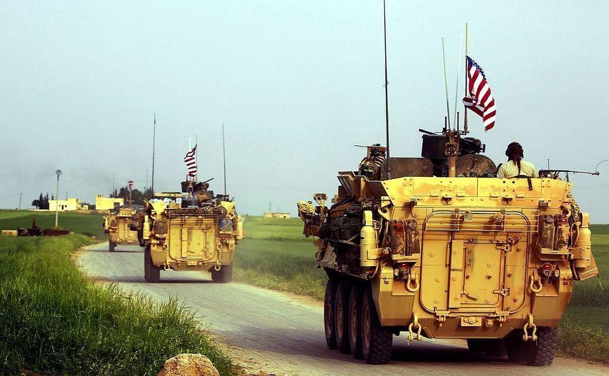 Soldaţi americani şi luptători kurzi în nordul Siriei, 28 aprilie 2017