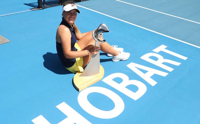 Jucătoarea americană de tenis Sofia Kenin.