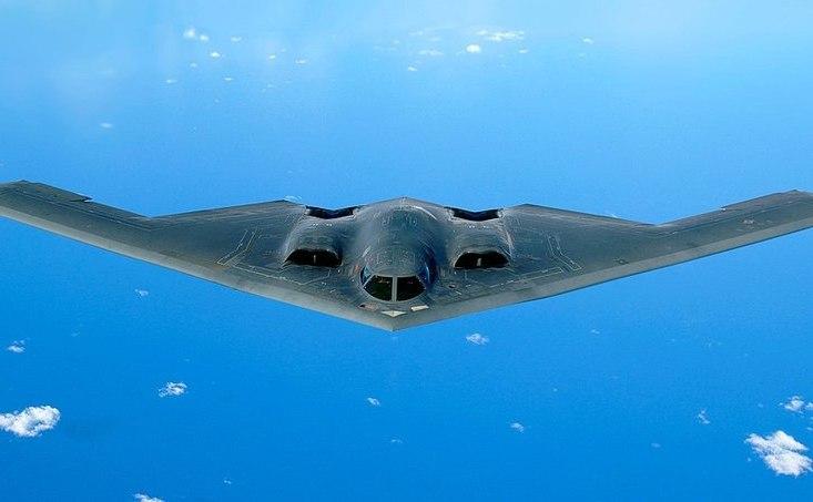 Bombardier stealth american B-2 Spirit