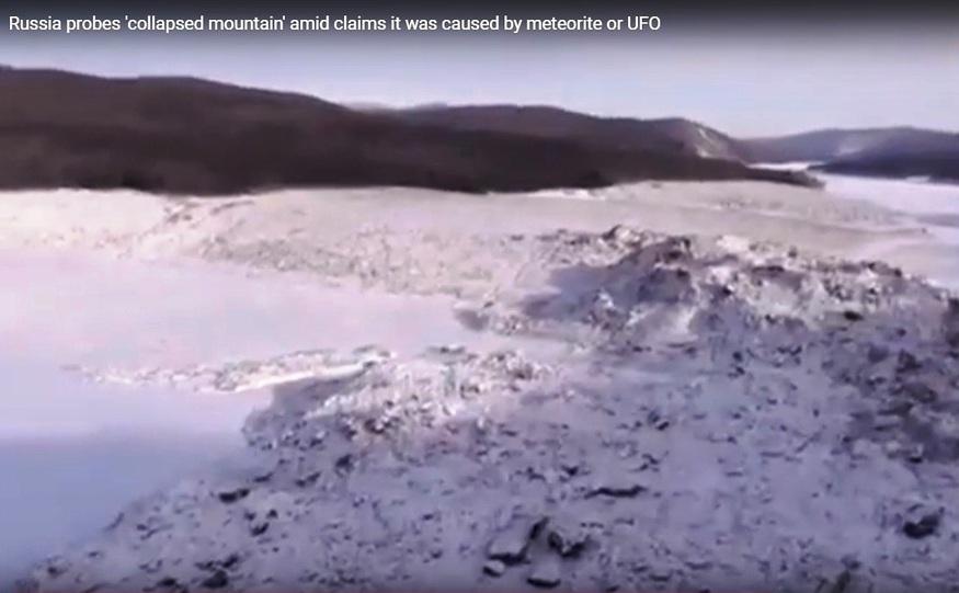 O cădere masivă de pietre a blocat râul Bureia şi a expus câteva sate riscului de inundaţii in Siberia.