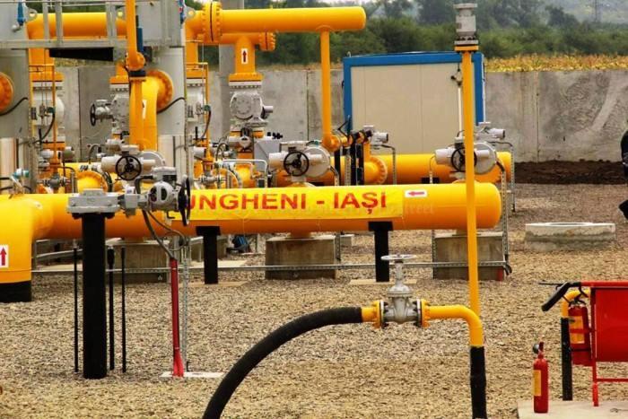 Construcţia gazoductului Iaşi-Ungheni