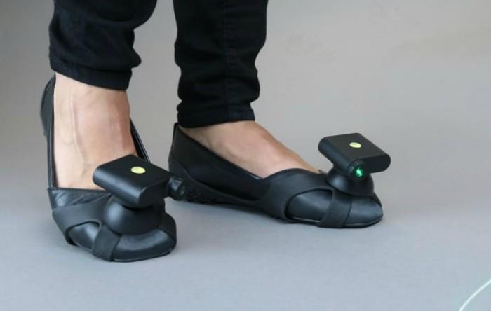 Pantofi cu laser