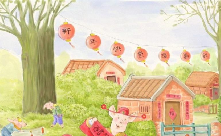 Cu Anul Porcului soseste norocul!
