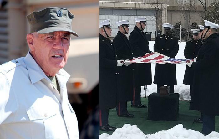 """Actorul R. Lee Ermey din """"Full Metal Jacket"""" a fost înmormântat cu onoruri militare"""