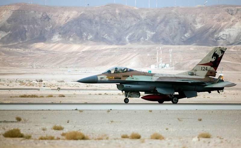 Avion de luptă F-16 israelian