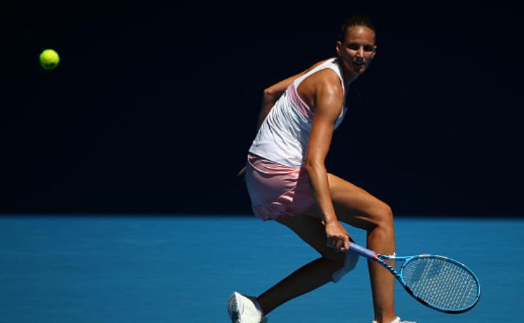 Jucătoarea cehă Karolina Pliskova.