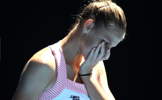 Jucătoarea cehă de tenis Karoline Pliskova.