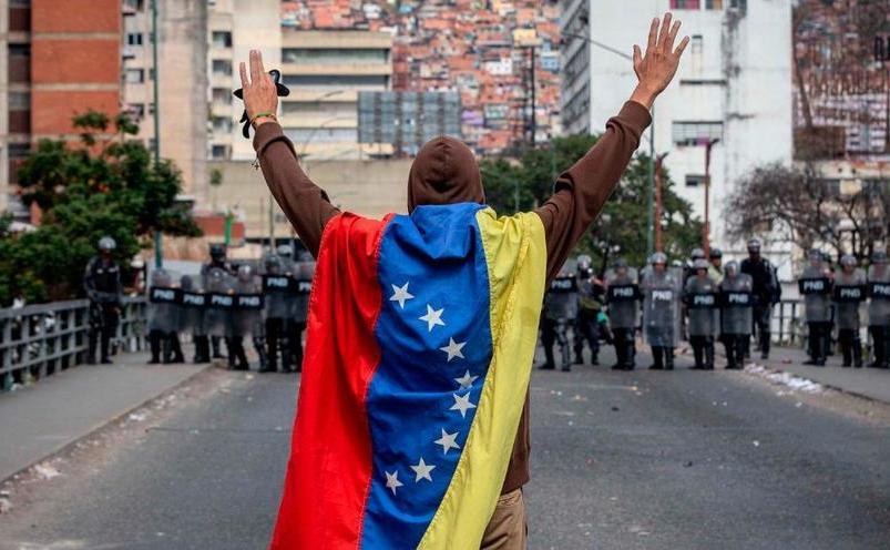 Proteste în Caracas
