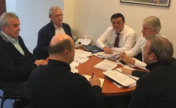 Liviu Dragnea şi colegii săi