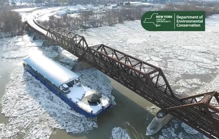 Râul Hudson, Albany, Statul de New York