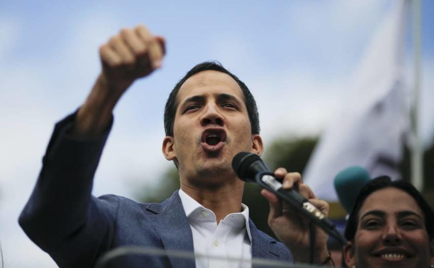 Juan Guaido, liderul opozitei din Venezuela