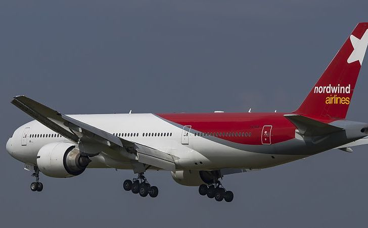 Avion al companiei ruseşti Nordwind Airlines