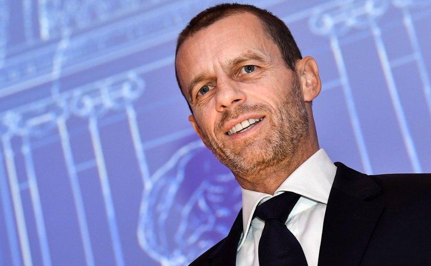 Aleksander Ceferin, preşedintele Uniunii Europene de fotbal (UEFA).