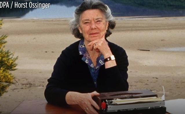 Scriitoarea Rosamunde Pilcher.