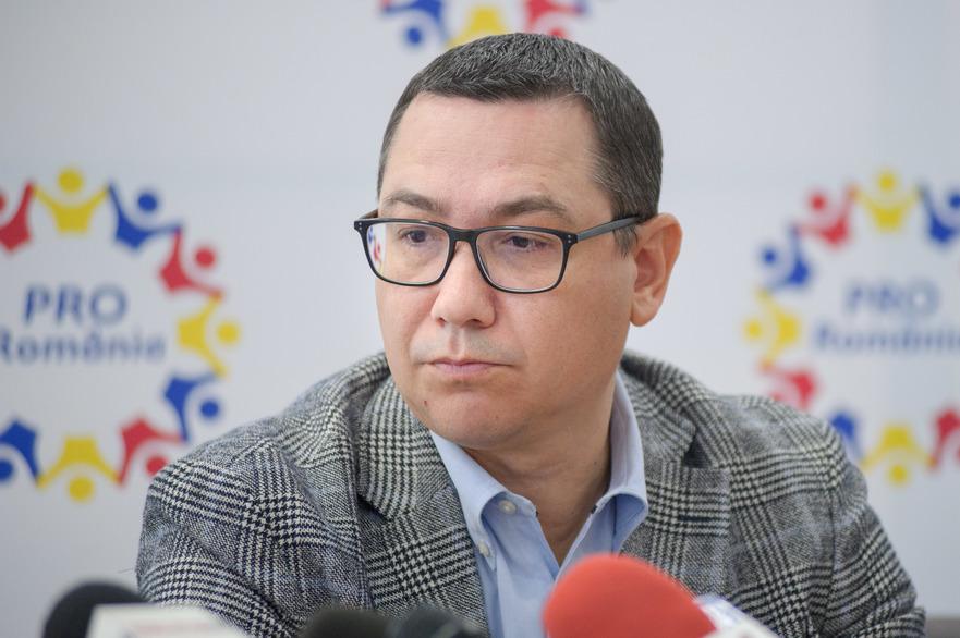 Victor Ponta (Pro România),