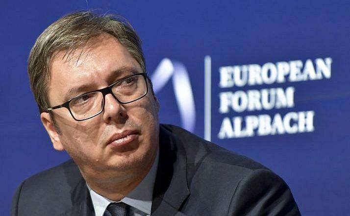 Preşedintele sârb Aleksandar Vucic