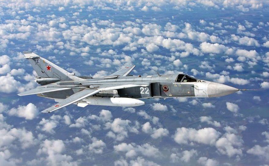 Avion de vânătoare rusesc Su-24M