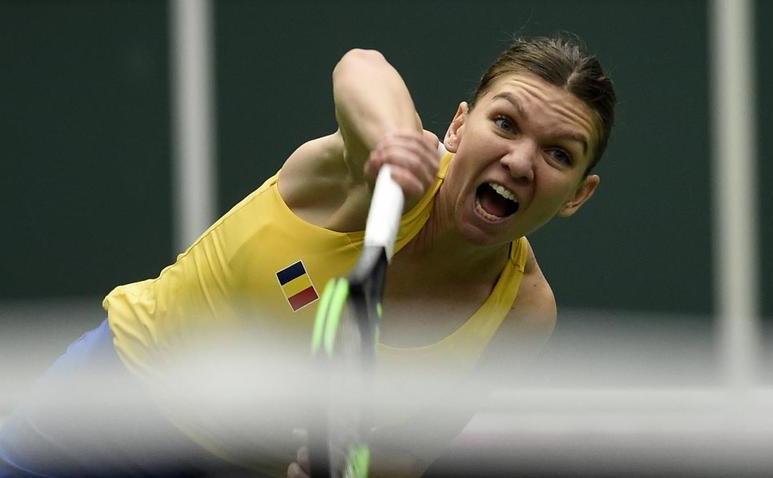 Jucătoarea româna de tenis Simona Halep.