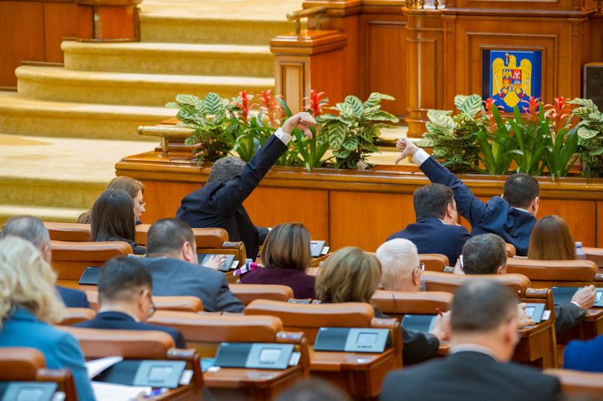 Vot în plenul Camerei Deputaţilor