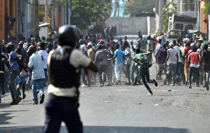 Proteste în Haiti, miercuri 13 februarie 2019