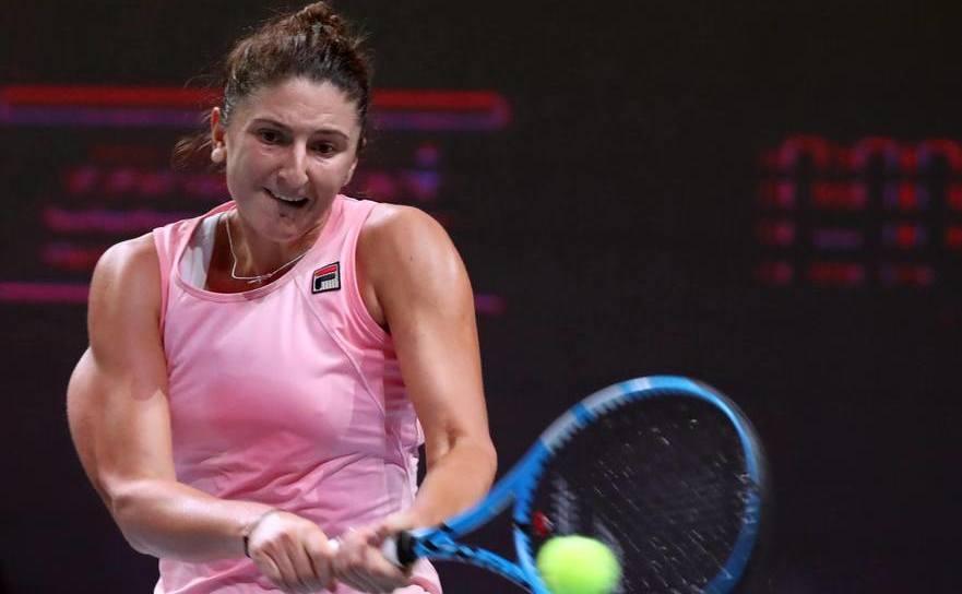 Jucătoarea română de tenis Irina Begu.