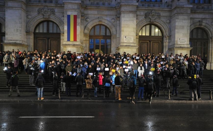 Protestul magistraţilor