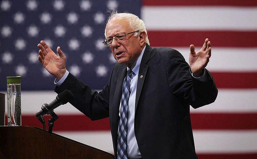 Senatorul american Bernie Sanders