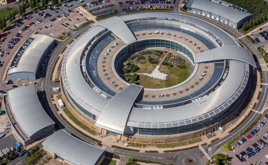 Sediul GCHQ în Cheltenham, Marea Britanie