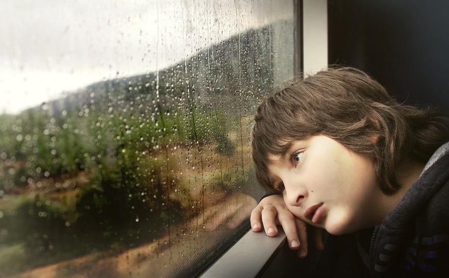 Copiii nu stiu sa isi exprime starea de anxietate.