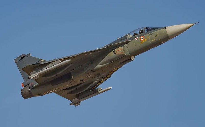 Avion de vânătoare HAL Tejas al forţei aeriene indiene
