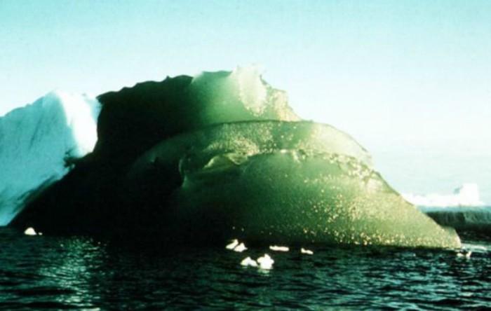 Aisberg verde