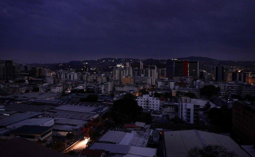 Pană de curent în Caracas, Venezuela, 7 martie 2019