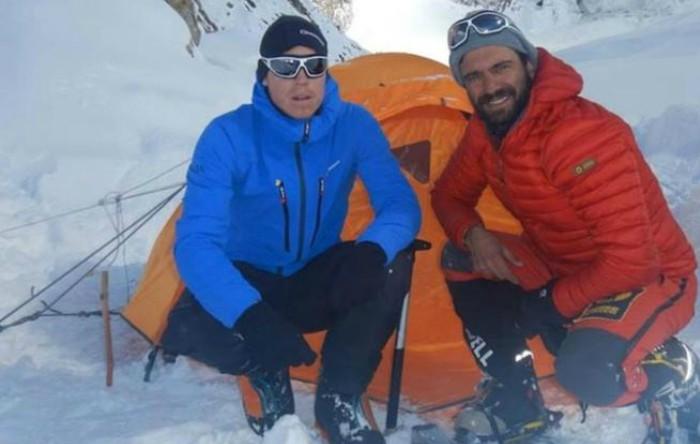 Tom Ballard împreună cu Daniele Nardi