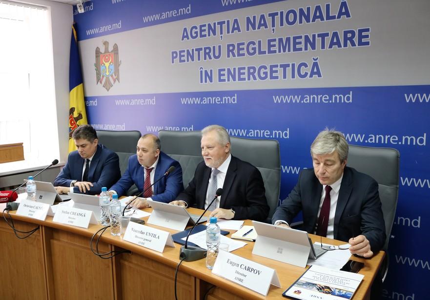 Octavian Calmâc, Ştefan Creangă, Veaceslav Untilă şi Eugen Carpov – noii directori ai ANRE numiţi de către Parlamentul R.Moldova