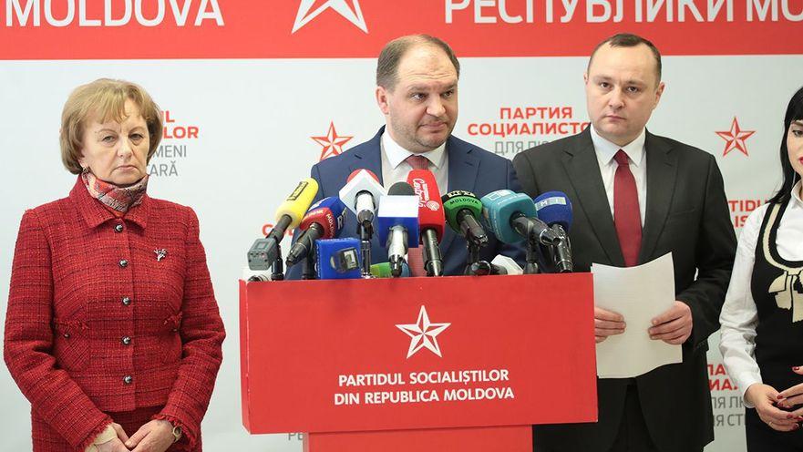 Ion Ceban, deputat PSRM
