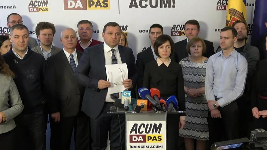 Blocul ACUM Platforma DA şi PAS