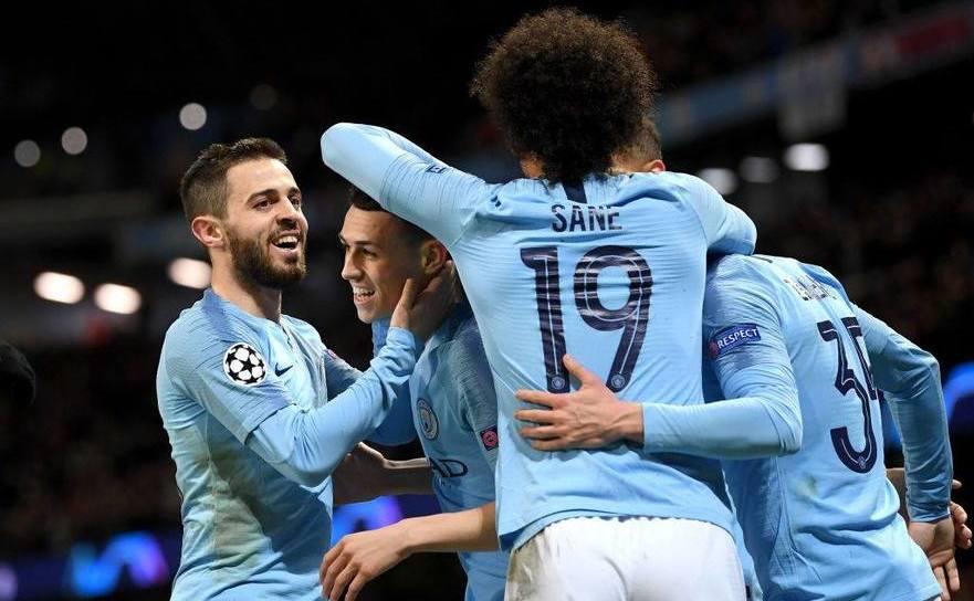 Manchester City a dispus de Schalke 04 cu scorul de 7-0 pe teren  propriu, rezultat ce i-a adus calificarea în sferturile de finală ale UCL.
