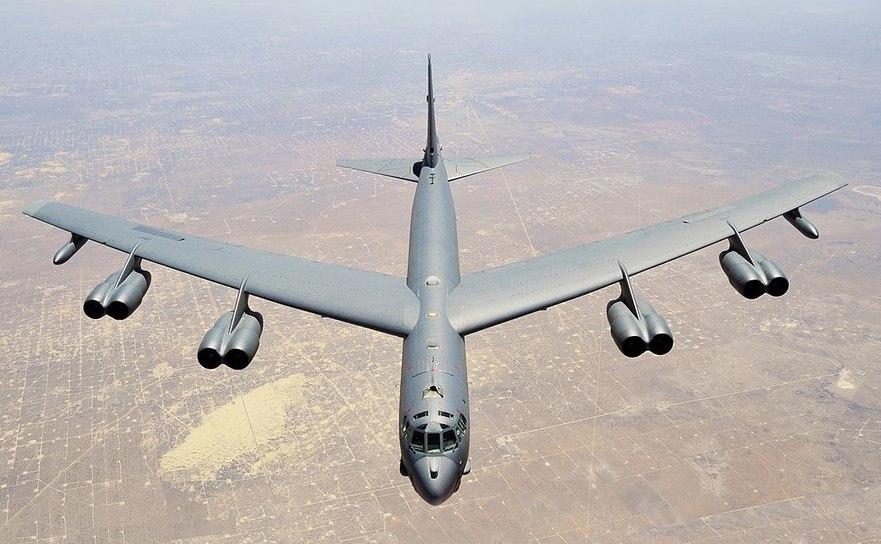 Bombardier american B-52H Stratofortress