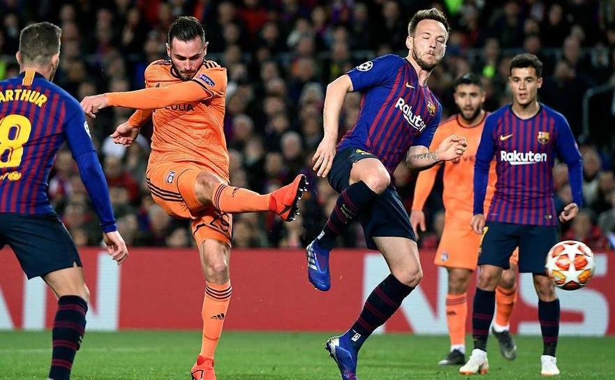 FC Barcelona - Olympique Lyon 5-1, în manşa secundă a optimilor de  finală a UCL.