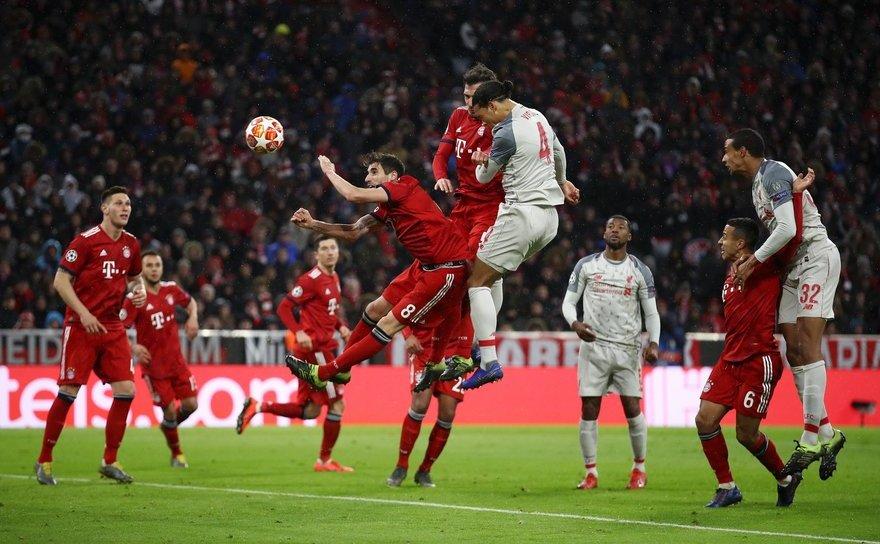 FC Liverpool, în sferturile Ligii Campionilor, după 3-1 cu Bayern Munchen.