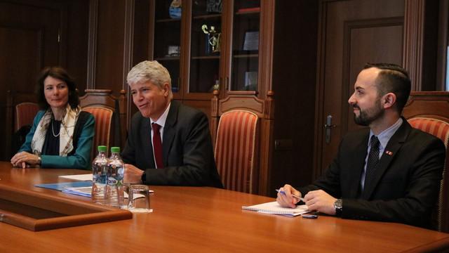 Guillaume Scheurer, ambasadorul Elveţiei pentru Ucraina şi Republica Moldova