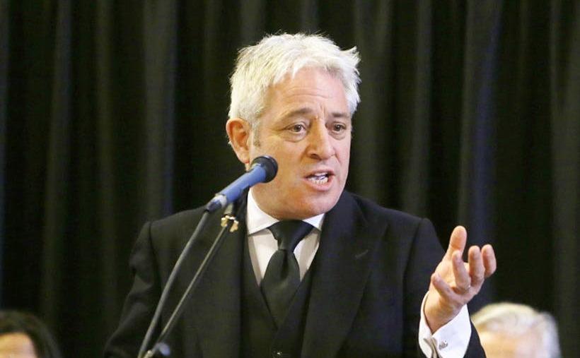 John Bercow, preşedintele Camerei Comunelor din Parlamentul britanic