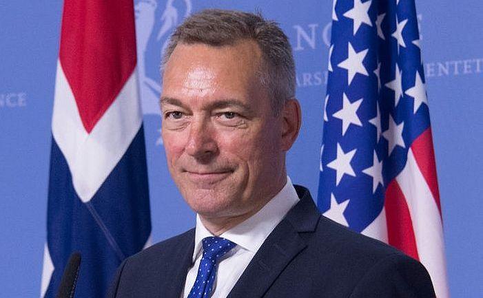 Ministrul norvegian al Apărării, Frank Bakke-Jensen
