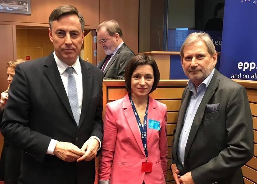 Maia Sandu la Bruxelles, 21.03.2019
