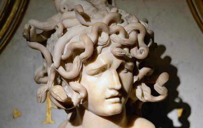 Medusa, de Gianlorenzo Bernini, Musei Capitolini